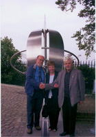 with Tam and Joyce at Greenwich meridian
